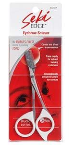 Seki Edge Eyebrow Scissors Comb SS 605