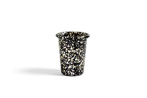 HAY - Enamel Becher - schwarz - Design - Tasse