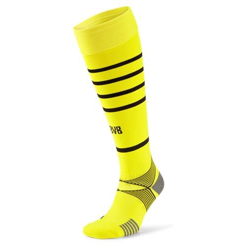 PUMA Team BVB Hooped Socks Replica, cyber yellow, 35/38