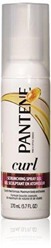 Pantene Pro-V Curly Hair Curl Enhancing Spray Gel, 5.7 oz