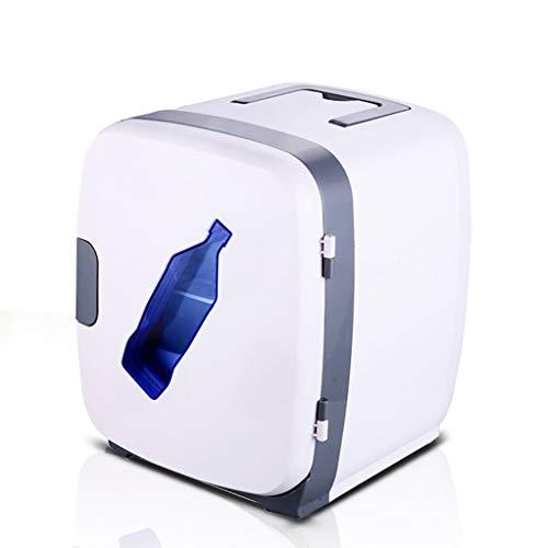 LIU UK Car Refrigerator Refrigerador PortáTil Congelador Compacto VehíCulo VehíCulo 13l Mini Nevera Nevera EléCtrica para Fiesta Viajes Picnic Camping Al Aire Libre - Blanco