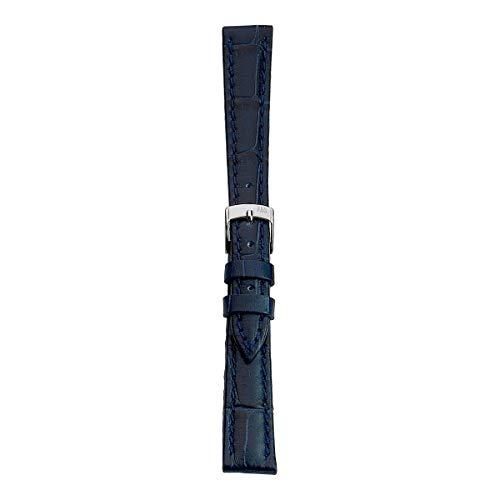 Morellato Cinturino unisex, Collezione EASY CLICK, mod. Bolle, in vera pelle di vitello - stampa alligatore - A01X5203480