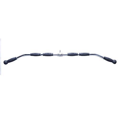 Puxador Reto Longo para Exercícios de Musculação em Aço Inox 121cm - Rae Fitness