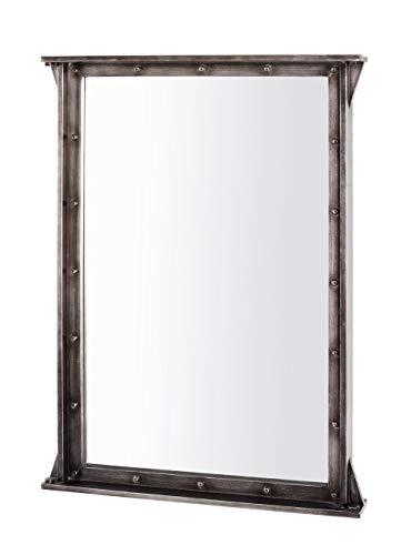 Haku Moebel Miroir Murale, MDF, Anthracite, 9 x 65 x 90 cm