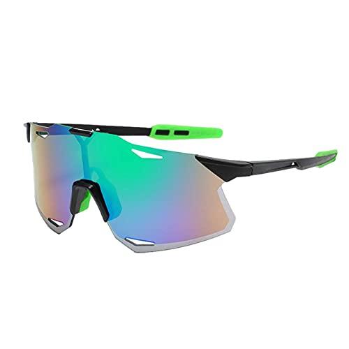 Wisvis Gafas de sol polarizadas deportivas para exteriores, antiultravioleta, modernas y coloridas para pesca al aire libre y deportes de conducción