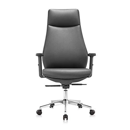 Bürostühle Verstellbare Kopfstütze, Armlehne, Rückenlehne, Executive Swivel Computer Chair, bequemer Home Office Stuhl mit hoher Rückenlehne für das Büro
