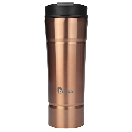 Bubba HT Vacuum-Insulated Stainless Steel Travel Mug, 20 oz, Rose Gold