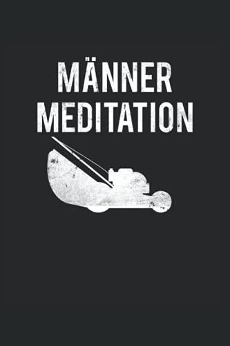 Gärtner Notizbuch (liniert) Männer Meditation Gartenarbeit Rechen