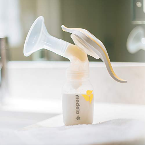 Breast Pump | Medela Harmony Manual Breast Pump | Lightweight and Discreet Hand Pumping