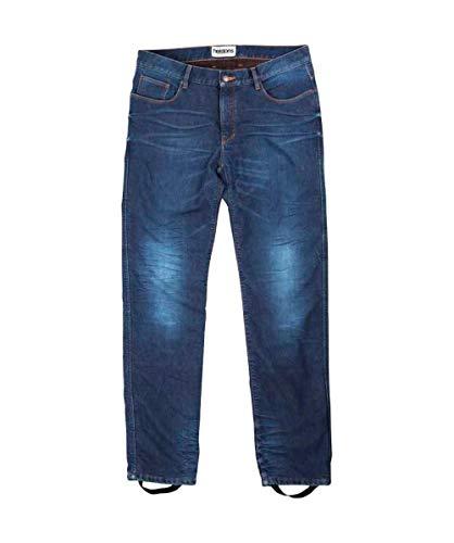 Helstons Motorrad Jeans Motorradhose Motorradjeans Corden Stone Wash Jeanshose blau 30, Herren, Chopper/Cruiser, Ganzjährig, Textil