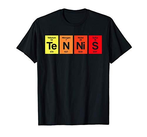 Regalo per allenatore di tennis da tavolo periodico Maglietta