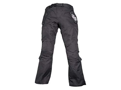 Modeka T5KIDS Niños Pantalones de Tela–Negro