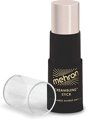 Mehron Makeup CreamBlend Stick - Foundation (.75 oz) (ALABASTER)