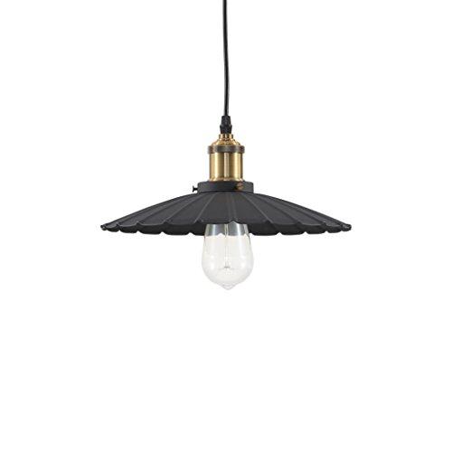Ideal Lux lámpara de techo Gotham Small Color Negro y montura metal
