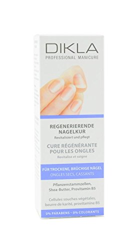 DIKLA regenerierende Nagelkur 50ml - tiefe Regeneration für trockene, brüchige Nägel - Swiss Quality