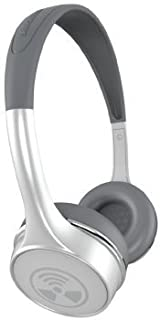 iFrogz Ear Pollution Toxix Plus White with Silver Logo Headphones with Mic + Controls