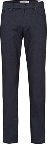 BRAX Herren Style Cooper C Woolook Flex Five Pocket Regular Fit Hose, Midnight, W34/L32(Herstellergröße: 34/32)