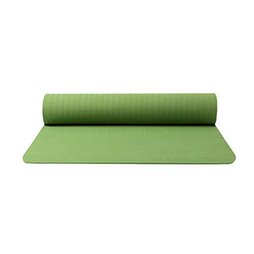 ღJiaMeng Gymnastik-/Yoga-Matte, mit Schultergurt, extra groß und dick, 183 cm x 61 cm x 0.6 cm