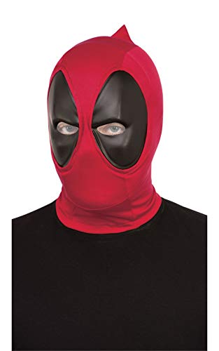 Rubie's Offizielle Disney Marvel Deadpool Maske Deluxe, Superhelden-Kostüm-Zubehör, Einheitsgröße