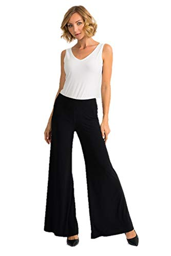 Joseph Ribkoff Midnight Black Pants Style 161096 2020 (8)