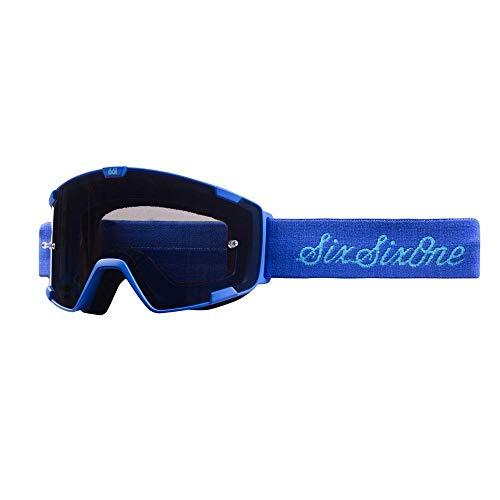 SixSixOne 661 Radia Lunettes de VTT Bleu Script Taille S