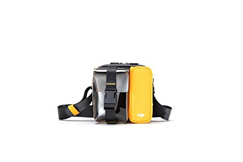 DJI Mavic Mini Bag Borsa per Trasporto Drone Mavic Mini e accessori, Comoda per Portare il tuo Mavic Mini sempre con te, Disponibile in Tre Colori, Nero/Giallo