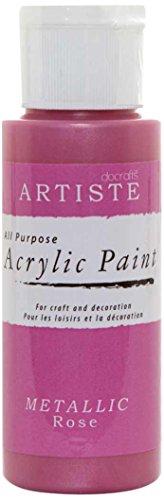 Artiste Paint, Rose Métallique, 2oz