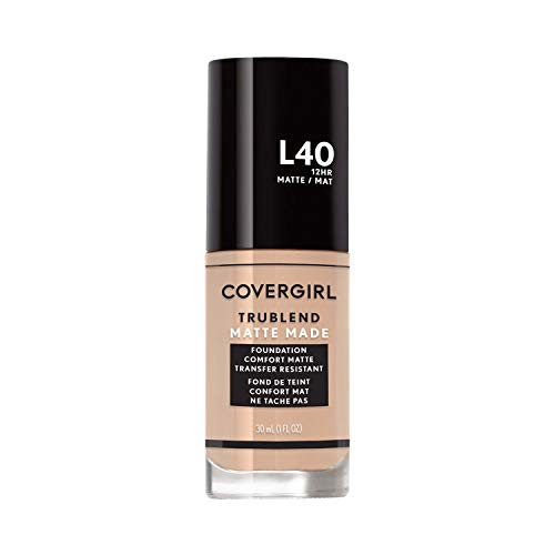 Covergirl TruBlend Matte Made Liquid Foundation, Classic Ivory