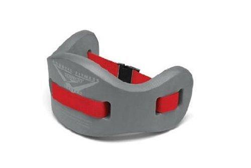 Speedo Unisex Swim Aqua Fitness Jogbelt Charcoal/Red, Large/X-Large