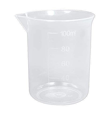 Rayher 34457000 Taza medidora de 100 ml, 52 mm ø, Vaso medidor resistente y preciso