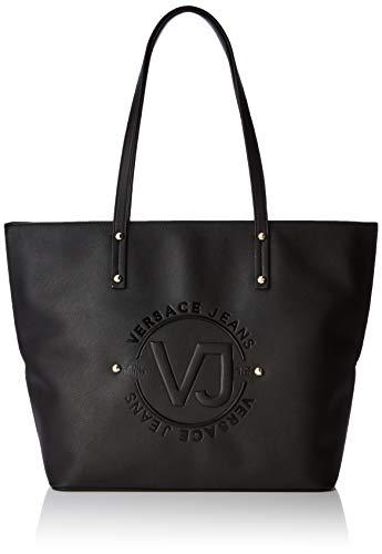 Versace Jeans Bag, Borsa a Spalla Donna, Nero (Nero), 14x29x42 cm (W x H x L)