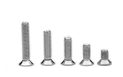 | Becherschrauben 10 St/ück Flachrundschrauben mit gro/ßem Kopf und Schlitz Edelstahl A2 M3X16 Tellerschrauben OPIOL QUALITY Bordwandschrauben