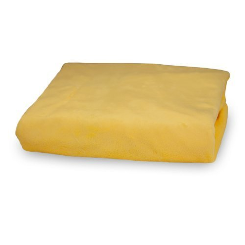 Rumble Tuff Silky Minky Changing Pad Cover, Yellow,Standard by Rumble Tuff