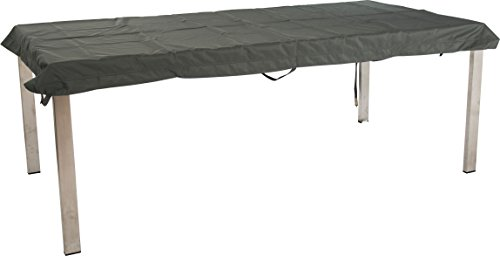 Stern Schutzhülle für Gartenmöbel, Tische, uni grau, 213 x 113 x 5 cm, 1,1 ml, 454822