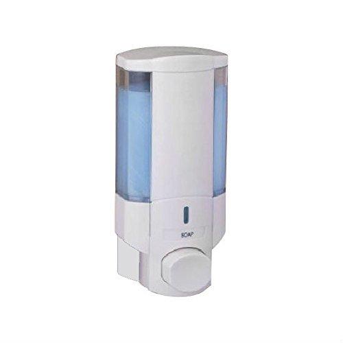 BETEC 69101 Seifenspender und Hygienespender Ecoline I Weiß Wandmontage