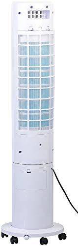 Sichler Haushaltsgeräte Aircooler: 3in1-Turmventilator, Luftkühler & -befeuchter, 80° Oszillation, 40 W (Turmventilator mit Kühlung)
