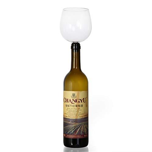 Copa de Vino, Beber copa de vino de barra de vinos Herramientas de vino Tapón de vino. Convierte la botella de vino en gafas. (Capacity : M7S, Color : M7S)