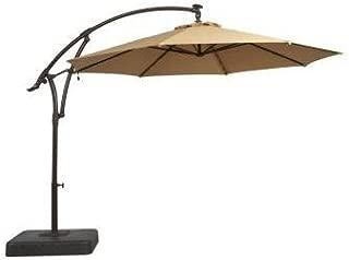 hampton bay 9 ft umbrella with led lights