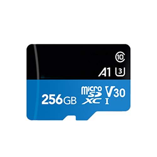 Aijin Micro SD Card High Speed 95MB / S Klasse 10 Emory Karte U3 V30 UHS-I-TF-Karte Microsd-Flash-Karte für Tablet,256GB