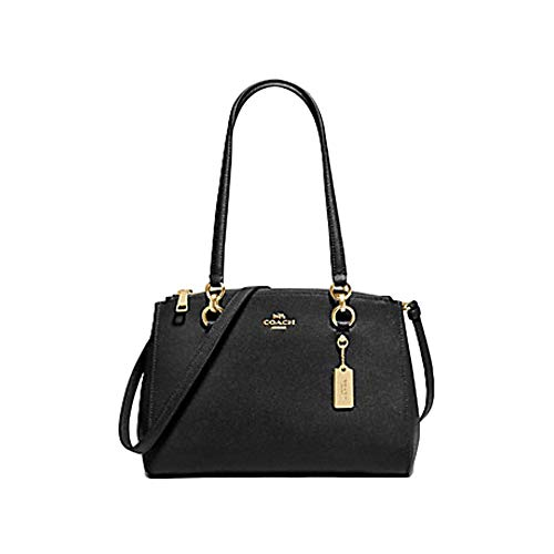 Coach Etta Carryall Crossbody Shoulder Handbag Purse F76938 (IM/BLACK), Large