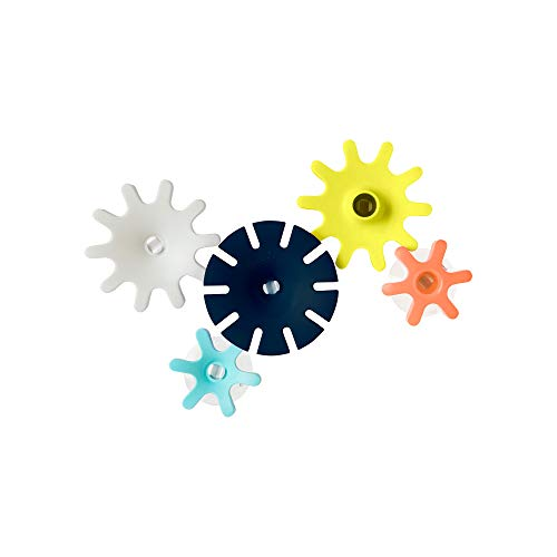COGS Boon Cogs Water Gears Bath Toys Set (Pack of 5), Navy, 5-Pack