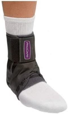 DJO Ankle Support PROCARE Small Hook and Loop Closure Left or Right Foot product image