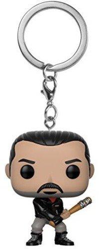 FunKo 21189 The Walking Dead: Negan POP Schlüsselanhänger Figur, Mehrfarbig, Standard
