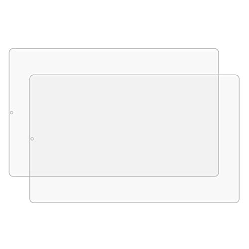 NANSHAN HDSCREENPROTECTOR+ / for Lenovo Yoga Tab 5 10.1 Inch 2 PCS 9H HD Película de Vidrio Templado a Prueba de explosiones, Película Protectora de Vidrio de Pantalla Clara