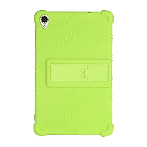 Runxingfu Impacto Resistente Soporte Silicona Suave Skin Protectora Cubrir Ligero Delgado Cáscara Funda para Lenovo Tab M8 FHD HD 8 Pulgada TB8705 TB8505 2019 Tablet