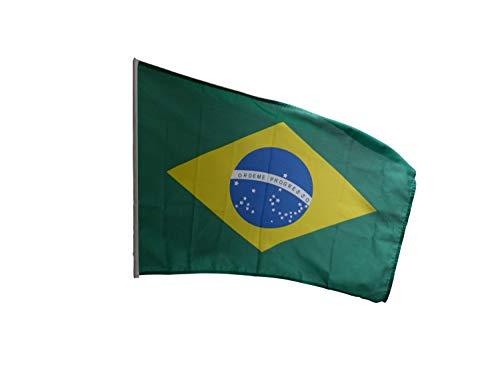 Fahne, Seidenfahne, Flag, Flagge, 90 x 150 cm Brasilien, Brasil, Brazil