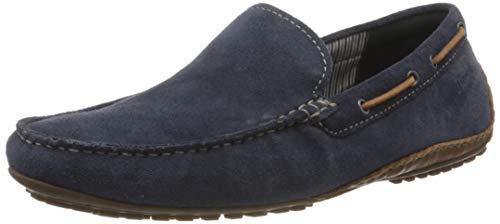 Sioux Herren Callimo Slipper, Blau (Indaco/Cognac 008), 44 EU