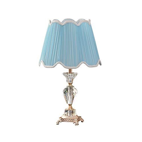 L-yxing-alto brillo Lámpara de mesa de cristal Lámpara de mesa de tela modernista Foyer Sala de estar Sala de la habitación Original habitación No lastimará tus ojos