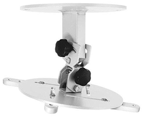 Supporto a soffitto per videopriettori Soffitto Ciatti PJMN10 Massima capacità peso 15 kg di colore Argento