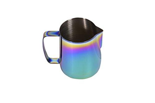 Stainless Steel Milk Frothing Pitcher Spectrum 20 oz Titanium Mirror Finish